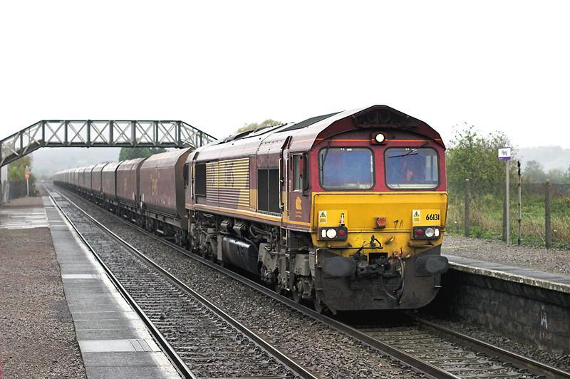 66131 Pilning 25/10/2012<br /> 6B68 0924 Avonmouth-Aberthaw PS