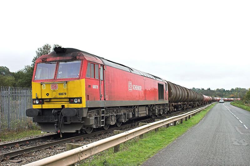 60079 Westerleigh 25/10/2012<br /> 6B13 0504 Robeston-Westerleigh