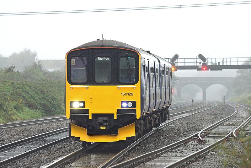 150129 Pilning 25/10/2012<br /> 2C71 1000 Cardiff Central-Taunton