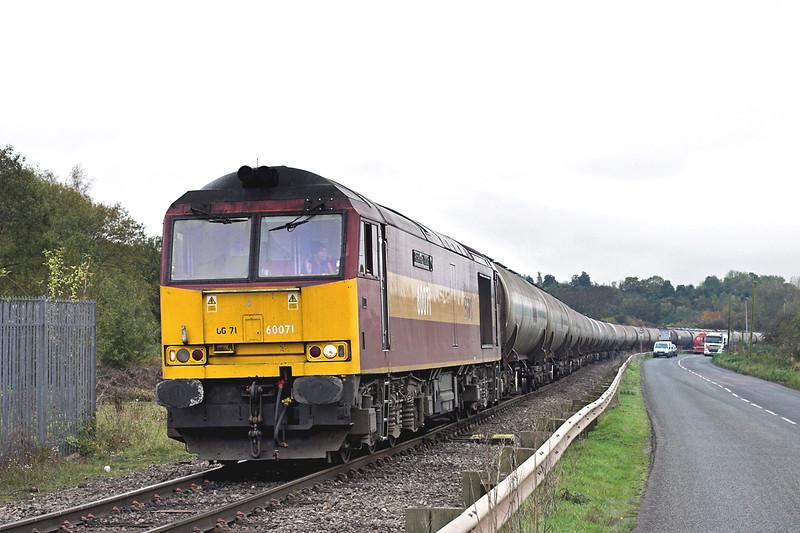 60071 Westerleigh 25/10/2012<br /> 6E41 1141 Westerleigh-Lindsey OR