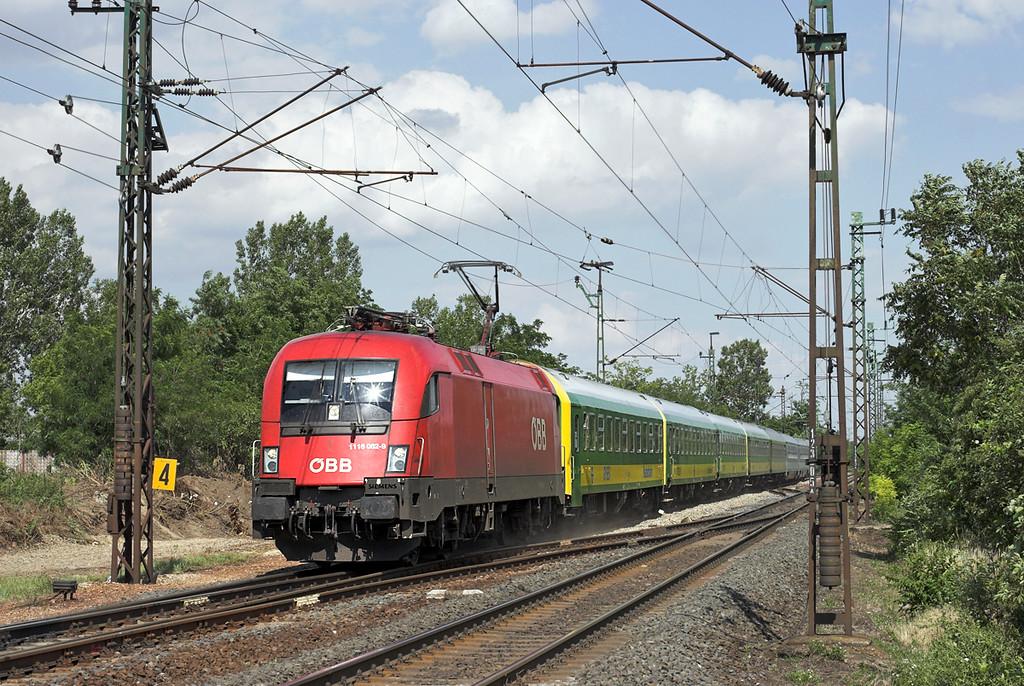 1116 062 Nagyszent János 26/6/2012<br /> IC924 1410 Budapest Keleti pu-Szombathely