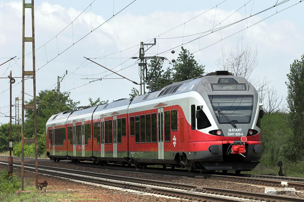 5341 020 Ács 26/6/2012<br /> 4922 0921 Budapest Déli pu-Györ