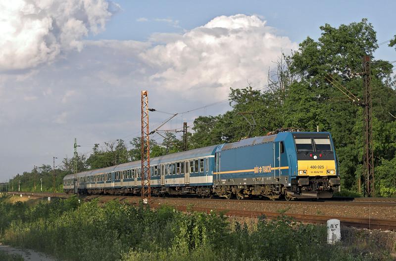 480025 Györszentiván 26/6/2012<br /> 9406 1738 Budapest Keleti pu-Györ