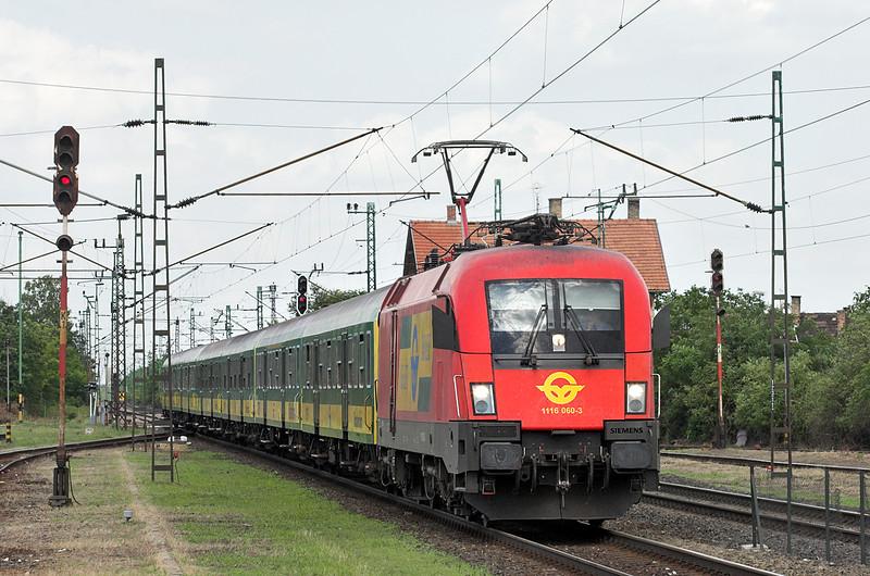 1116 060 Nagyszent János 26/6/2012<br /> 9204 1438 Budapest Keleti pu-Szombathely