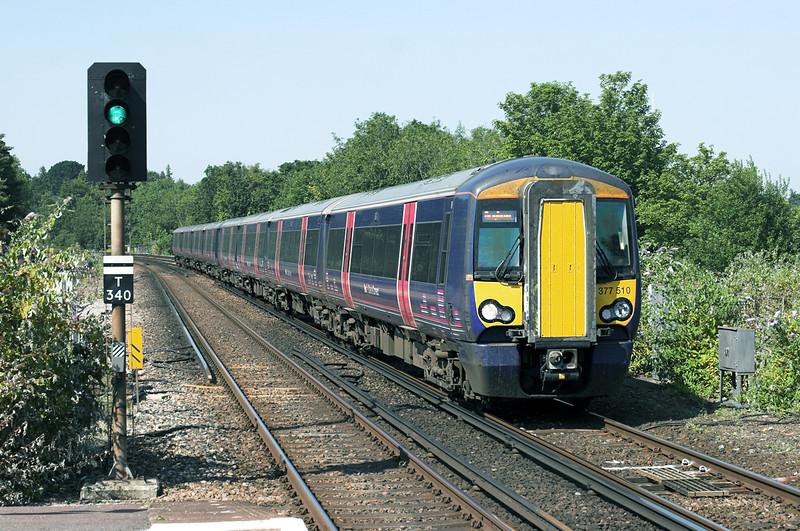377510 and 377511, Haywards Heath 26/7/2012<br /> 2T45 1418 Luton-Brighton