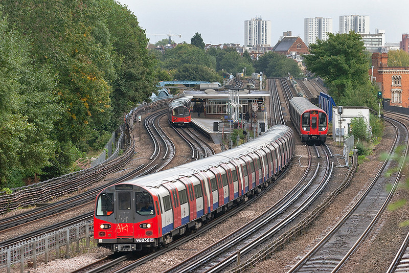 Jubilee Line 96036, Kilburn 26/9/2012