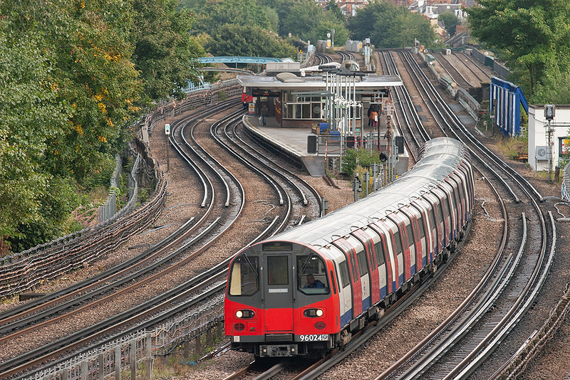 Jubilee Line 96024, Kilburn 26/9/2012