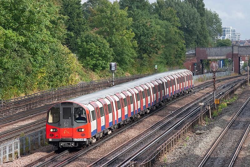 Jubilee Line 96052, Willesden Green 26/9/2012
