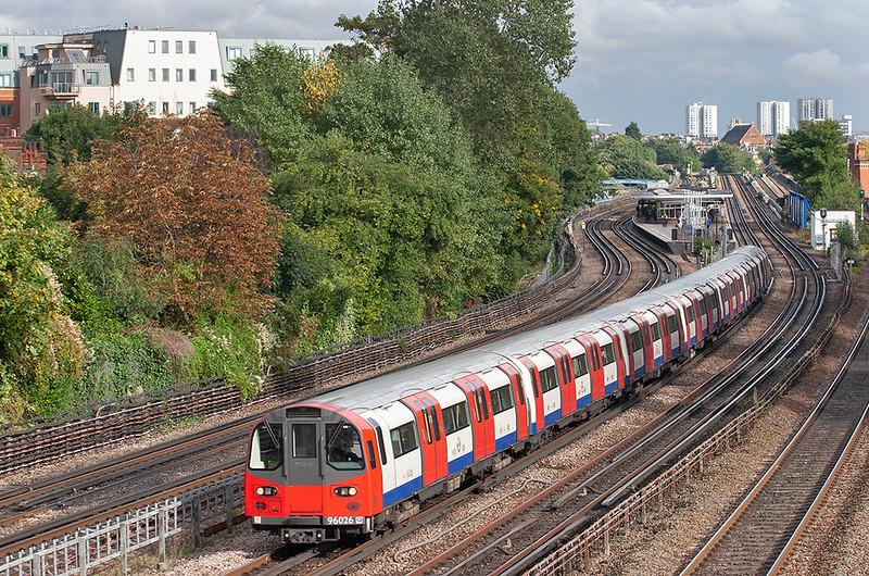 Jubilee Line 96026, Kilburn 26/9/2012