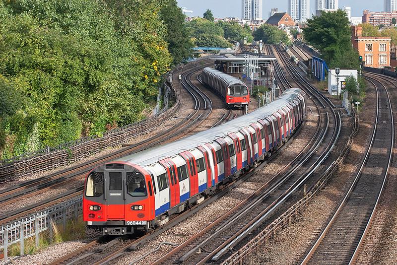 Jubilee Line 96044, Kilburn 26/9/2012