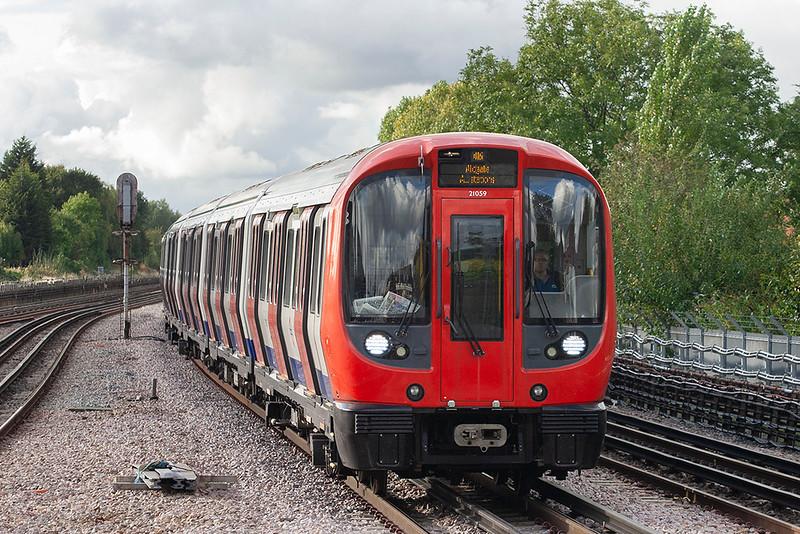 Metropolitan Line 21059, Preston Road 26/9/2012