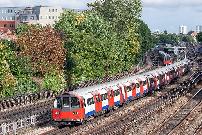 Jubilee Line 96118, Kilburn 26/9/2012