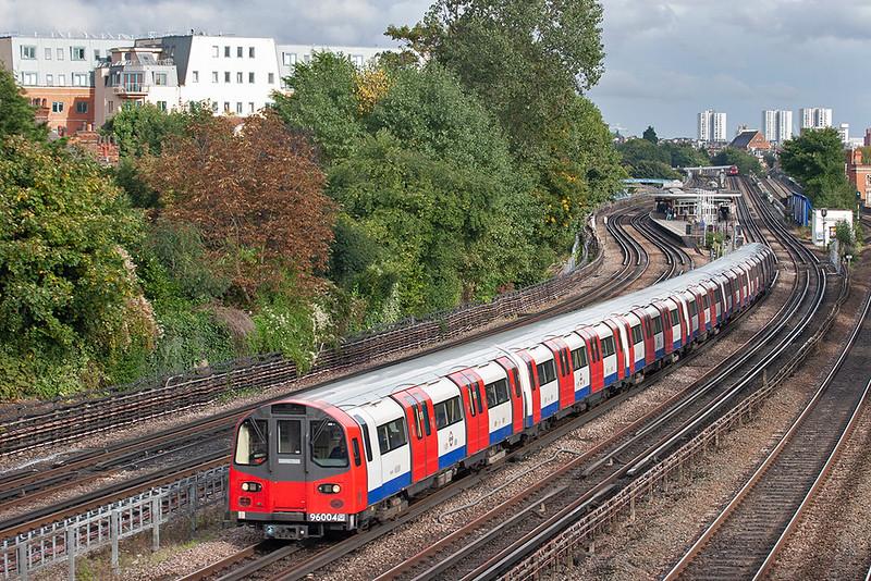 Jubilee Line 96004, Kilburn 26/9/2012