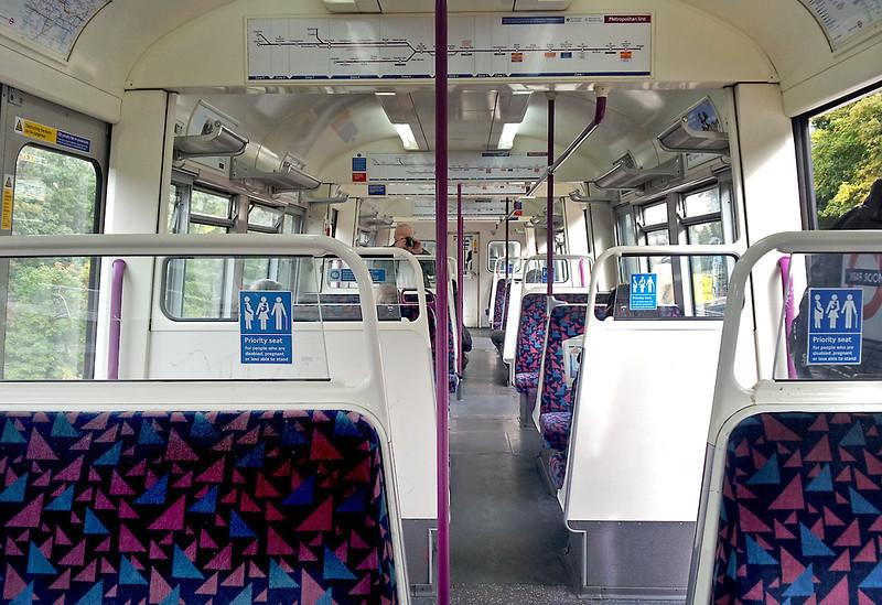 6063, London Underground A60 Stock, 26/9/2012