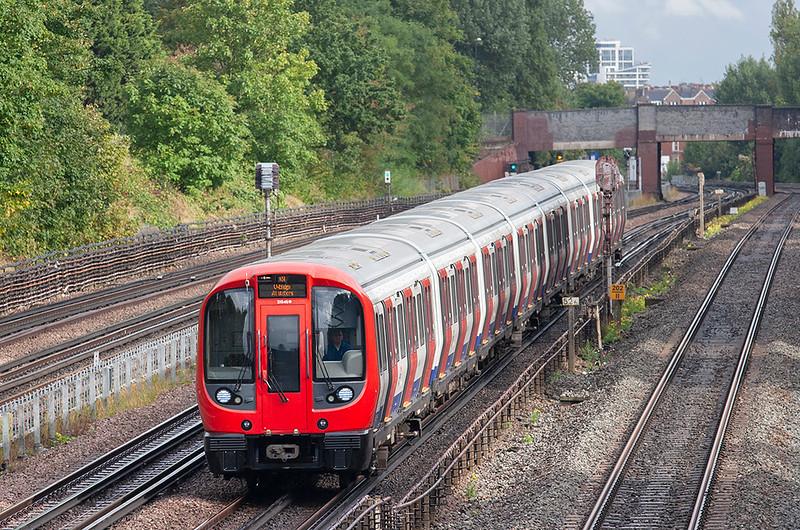 Metropolitan Line 21046, Willesden Green 26/9/2012