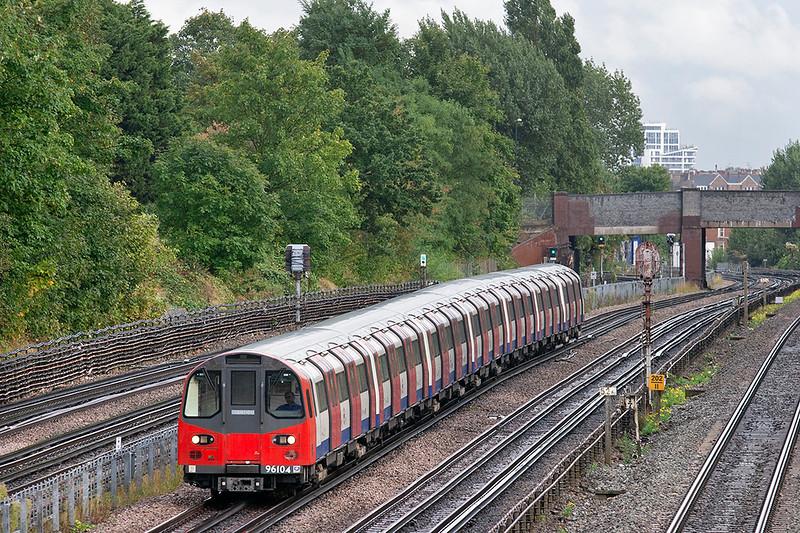 Jubilee Line 96104, Willesden Green 26/9/2012