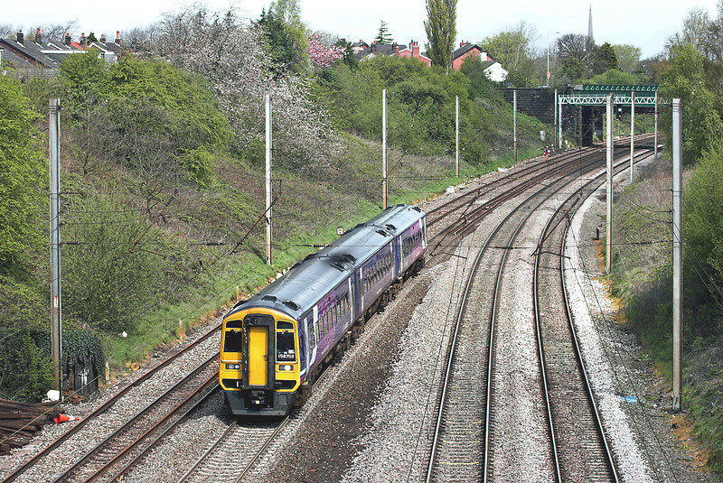 158753 Penwortham 27/4/2012<br /> 1B25 1029 Blackpool North-York