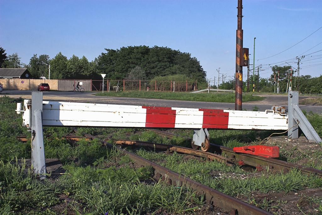 'Buffer stop', Nagyszent János, Hungary 27/6/2012