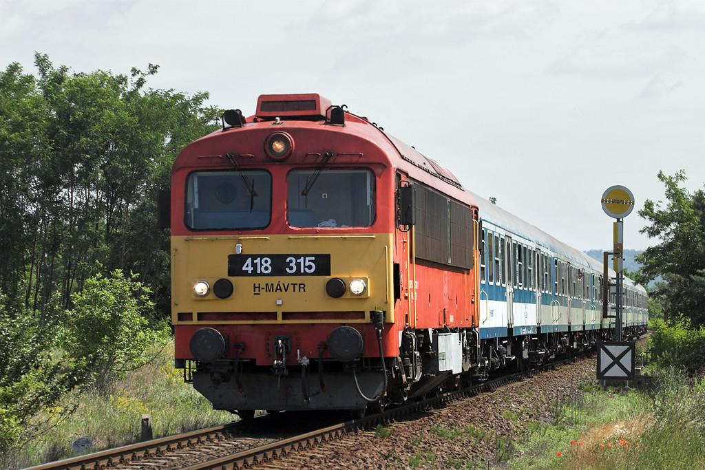 418315 Szerecsezvy 27/6/2012<br /> 9302 0838 Budapest Keleti pu-Szombathely