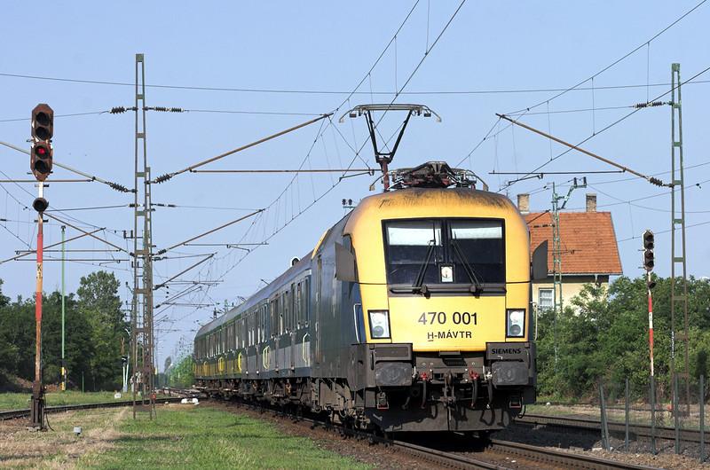 470001 Nagyszent János 27/6/2012<br /> 9206 1638 Budapest Keleti pu-Celldömölk