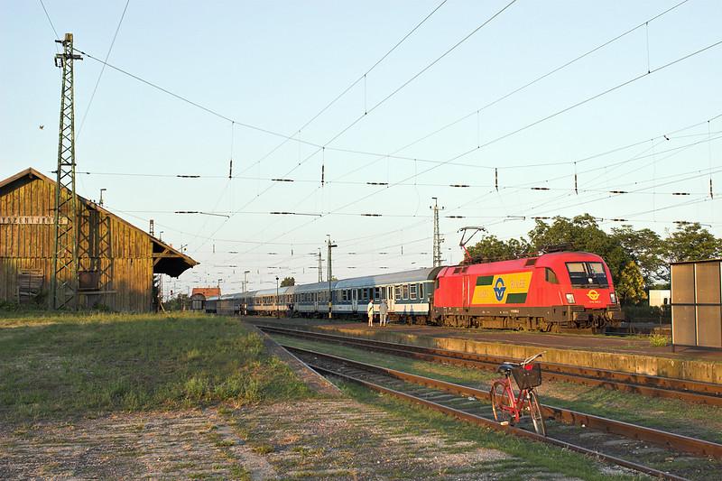 1116 063 Nagyszent János 27/6/2012<br /> 9208 1838 Budapest Keleti pu-Szombathely
