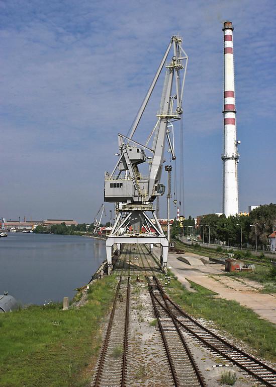 Komárno Docks, Slovakia, 28/6/2012