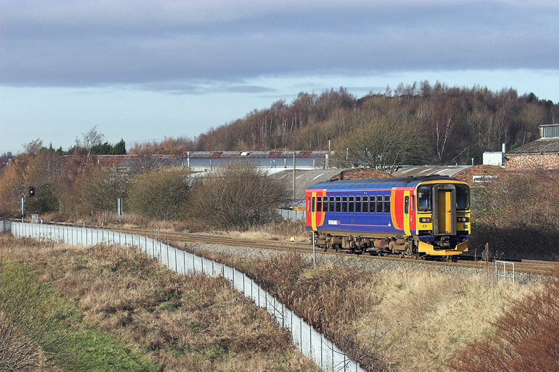 153379 Longton 28/11/2012<br /> 1K07 0942 Derby-Crewe