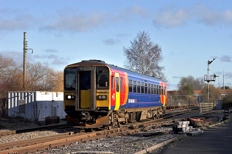 153385 Uttoxeter 28/11/2012<br /> 1K99 1042 Derby-Crewe