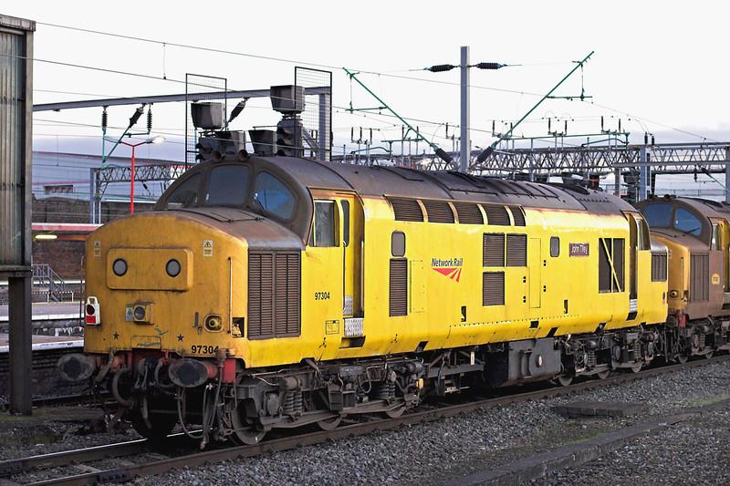 97304 Crewe 28/11/2012<br /> 0Z97 1600 Crewe IEMD-Bescot
