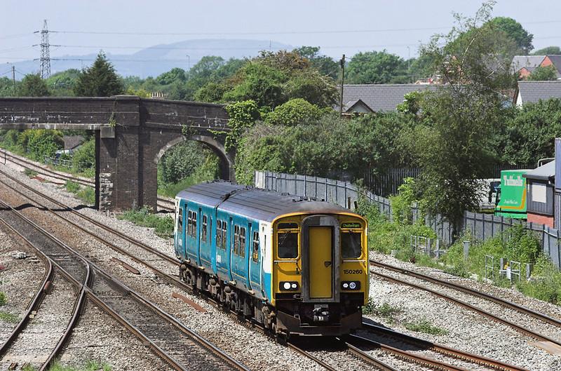 150260 Magor 29/5/2012<br /> 2G58 1115 Maesteg-Cheltenham Spa