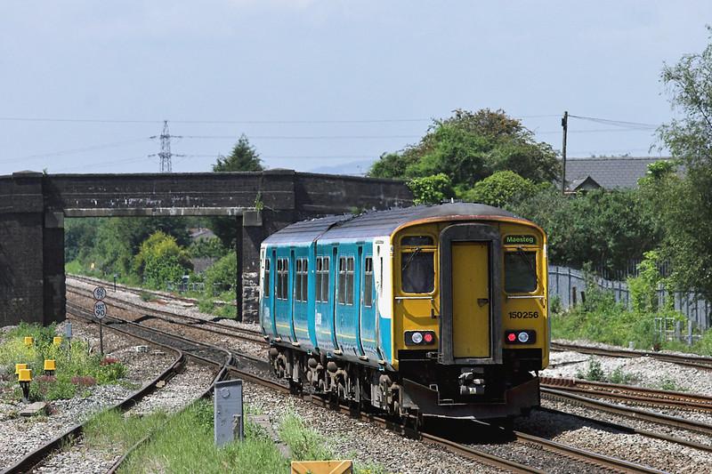 150256 Magor 29/5/2012<br /> 2G55 1145 Cheltenham Spa-Cardiff Central