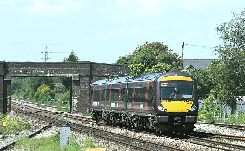 170639 Magor 29/5/2012<br /> 1M64 1145 Cardiff Central-Nottingham