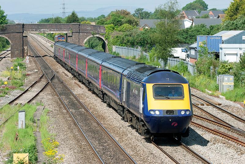 43086 and 43126, Magor 29/5/2012<br /> 1L48 0928 Swansea-London Paddington