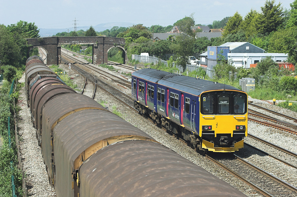 150102 Magor 29/5/2012<br /> 2U12 0600 Penzance-Cardiff Central