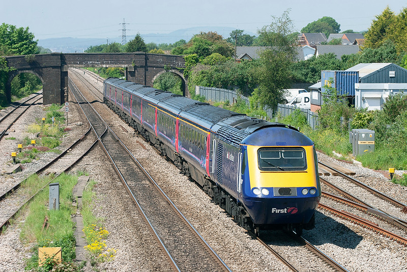 43197 and 43035, Magor 29/5/2012<br /> 1L54 1155 Cardiff Central-London Paddington