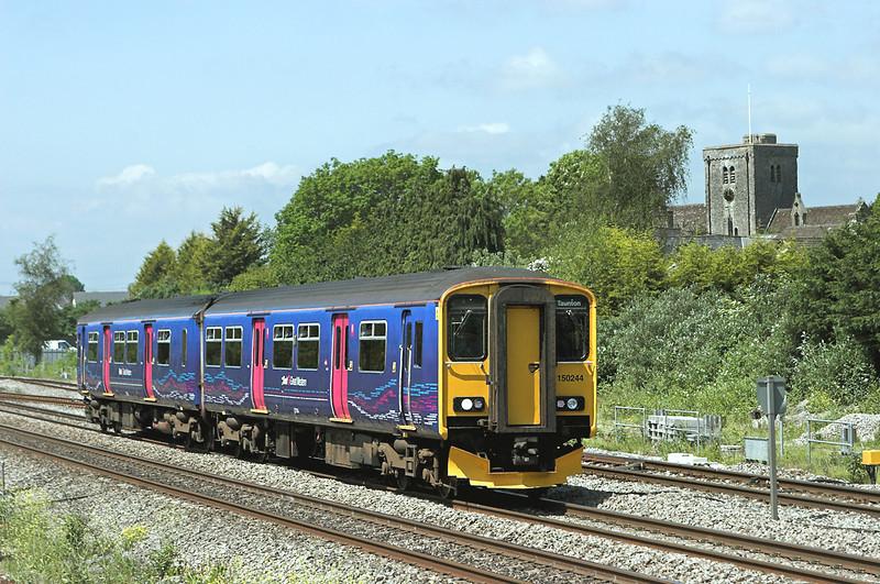 150244 Magor 29/5/2012<br /> 2C75 1200 Cardiff Central-Taunton