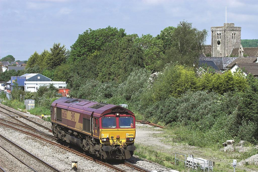 66056 Magor 29/5/2012<br /> 0M00 1040 Alexandra Dock Junction-Saltley