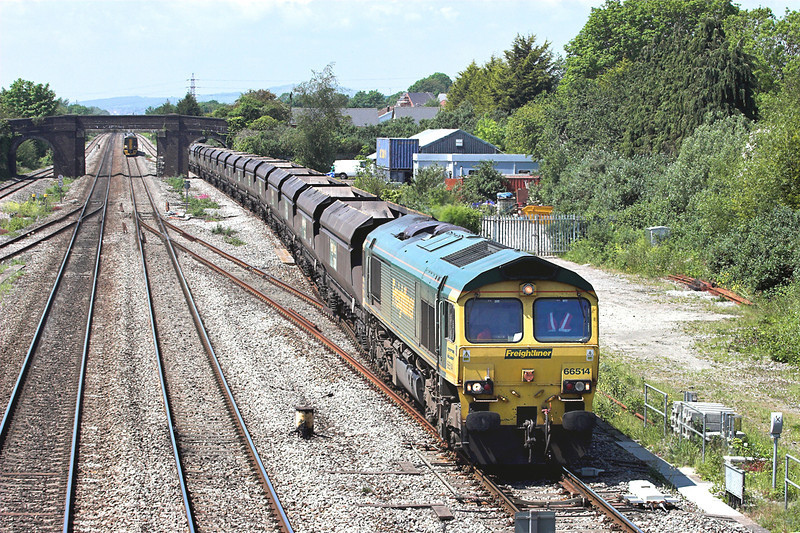 66514 Magor 29/5/2012<br /> 4F56 1042 Uskmouth-Stoke Gifford