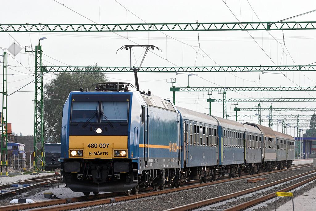 480007 Kápolnásnyék 29/6/2012<br /> EX1786 1615 Fonyód-Szeged