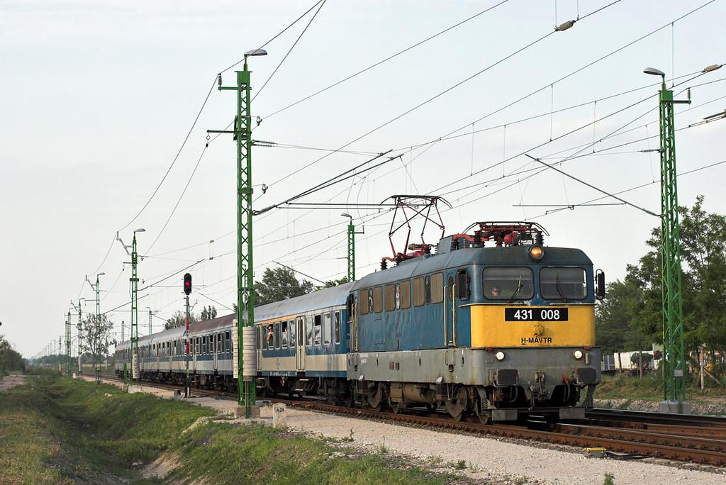 431008 Kápolnásnyék 29/6/2012<br /> 908 1811 Budapest Déli pu-Szombathely