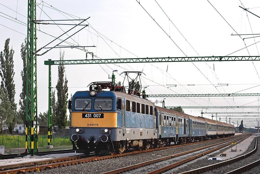 431007 Kápolnásnyék 29/6/2012<br /> 19701 1540 Tapolca-Budapest Déli pu