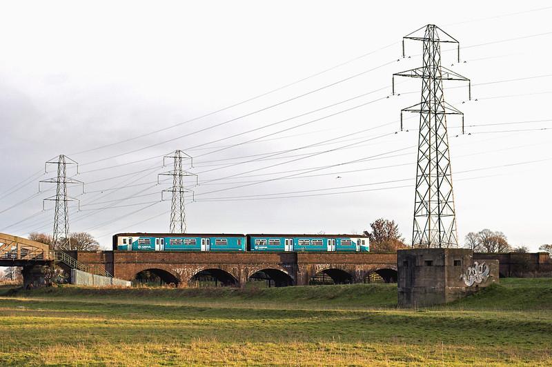 150258 Hawarden Bridge 29/11/2012<br /> 2F76 1430 Wrexham Central-Bidston