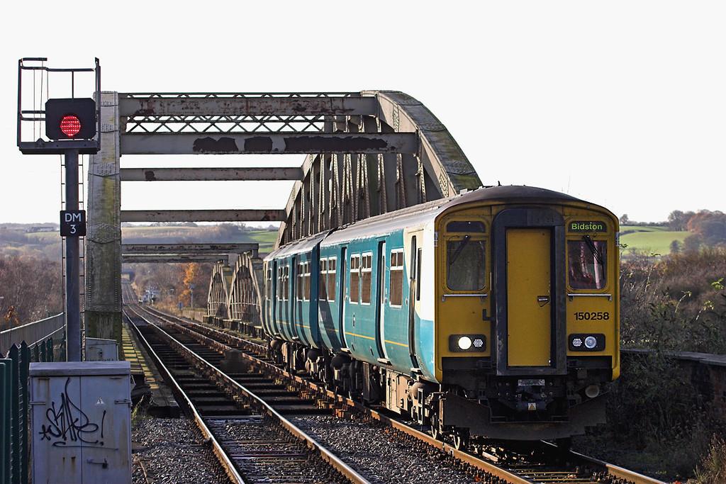 150258 Hawarden Bridge 29/11/2012<br /> 2F78 1030 Wrexham Central-Shotton