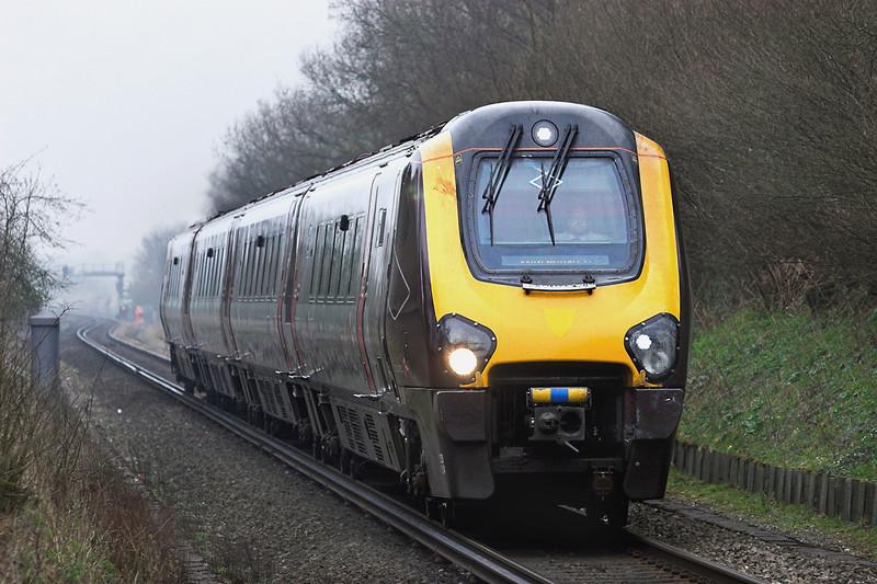 220024 East Oakley 30/3/2012<br /> 1O82 0615 Leeds-Southampton Central