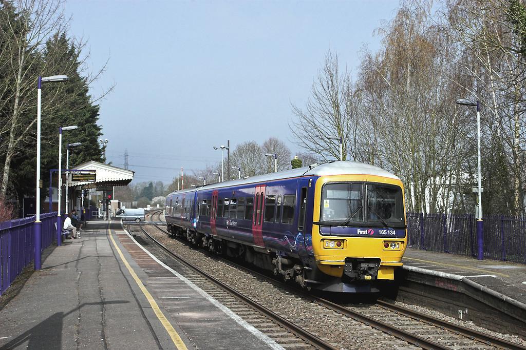 165134 Bramley 30/3/2012<br /> 2J33 1235 Reading-Basingstoke