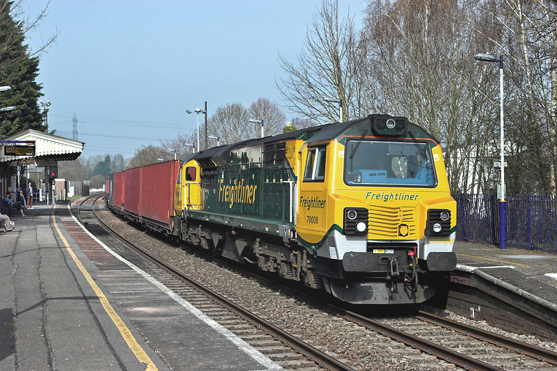 70008 Bramley 30/3/2012<br /> 4O51 0958 Wentloog-Southampton MT