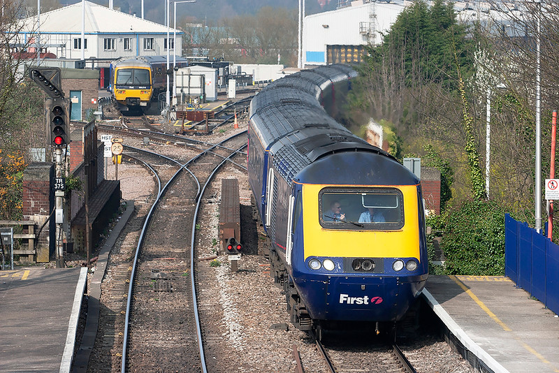 43130 Reading West 30/3/2012<br /> 1C86 1506 London Paddington-Penzance