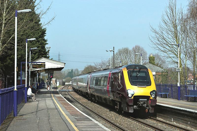 220023 Bramley 30/3/2012<br /> 1O12 0927 Manchester Piccadilly-Bournemouth