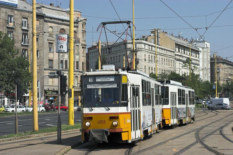 4058 and 4059, Budapest Déli 30/6/2012