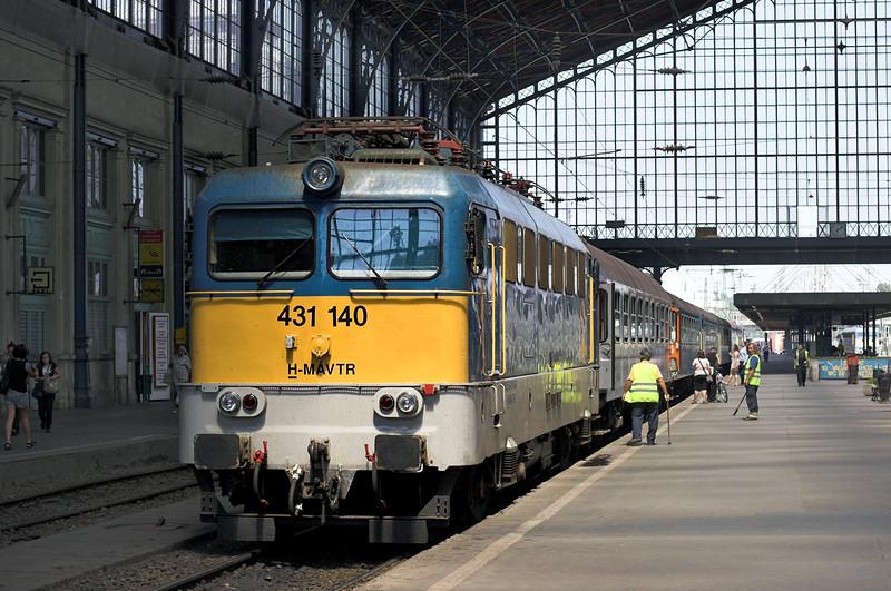 431140 Budapest Nyugati 30/6/2012<br /> 6205 0803 Záhony-Budapest Nyugati pu